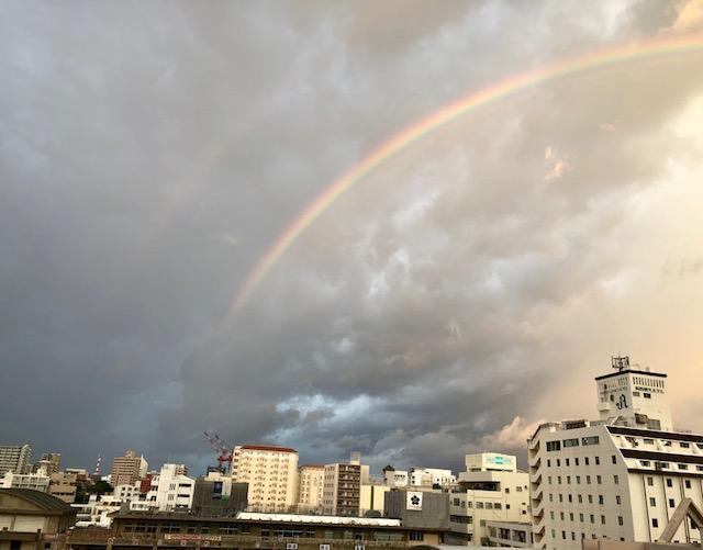 ダブルレインボー(二重の虹)【幸運の兆し】